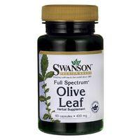 Swanson Full Spectrum Olive Leaf - Liść Oliwny 60 kaps.