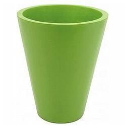 fiberglasspot, doniczka z włókna szklanego zielona 44x61cm marki Europalms