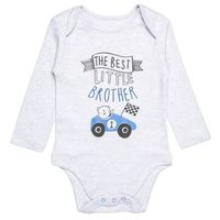 mothercare BEST LITTLE BROTHER BABY Body white, MC229