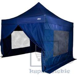Namiot ogrodowy, party, STILISTA automatyczny 3x3m +4 ściany - niebieski