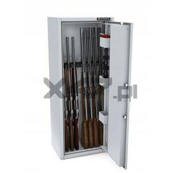 Szafa na broń długą MLB 125/4+4 EL S1 Konsmetal - zamek elektroniczny, 33FA-4587C_20180801120910
