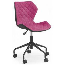 Fotel obrotowy dla dziewczynki Kartex - różowy, V-CH-MATRIX-FOT-RÓŻOWY