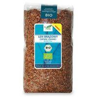 Len brązowy (siemie lniane) BIO 1kg - Bio Planet (5907814666918)