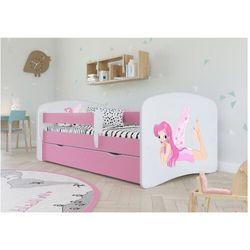 Łóżeczko dla dziewczynki 140x70 babydreams marki Kocot