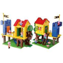 BIG Klocki Play Bloxx Peppa Domek Na Drzewie 94el. (4004943570770)