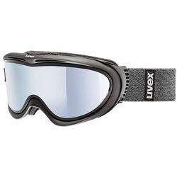 Gogle narciarskie  comanche top polaryzacja black/grey, marki Uvex