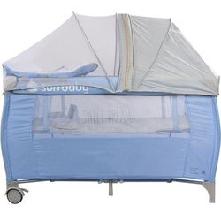 Łóżeczko turystyczne Sweet Dreams P995/658C SUN BABY z pełnym wyposażeniem Błyskawiczna wsyłka, zadzwo�