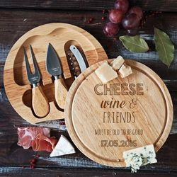 Cheese, wine&friends - deska do sera - deska do sera marki Mygiftdna