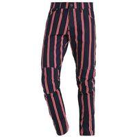 GStar PHARRELL WILLIAMS GSTAR ELWOOD X25 3D Spodnie materiałowe milk/mazarine blue/harvard red, kolor niebies