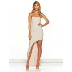 Sukienka Carina w kolorze nude, sugarfree.pl