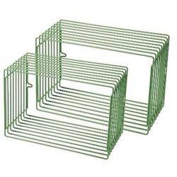 Zestaw metalowych półek (większe) - zielone