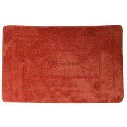 Dywanik łazienkowy 50x80 cm akryl, czerwony KP03C