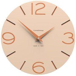 Zegar ścienny Smile CalleaDesign różowo-piaskowy, kolor różowy