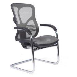 Ergonomiczne krzesło konferencyjne J-53, JNS-532 W-10 grey