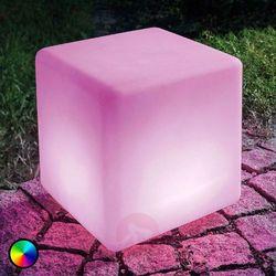 Kostka solarna LED Mega Cube z funkcją zmiany barw