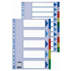 Przekładki Esselte Maxi A4+/5kart, kolor 15266