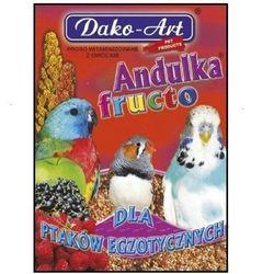 DAKO-ART Andulka Fructo - proso witaminizowane z owocami dla ptaków egzotycznych 500g, kup u jednego z partnerów