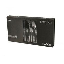 AMBITION Komplet sztućców Napoli 36-elementowy Gift Box 29899