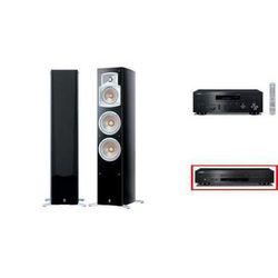 YAMAHA R-N602 + CD-S300 + NS-555 - wieża, zestaw hifi - zmontuj tanio swój zestaw na stronie, towar z kategorii: Zestawy Hi-Fi