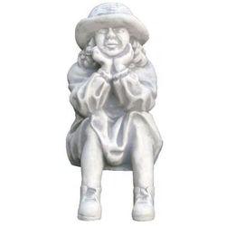 Figura ogrodowa betonowa chłopiec myślący 32cm