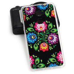Fantastic Case - Huawei Mate S - etui na telefon Fantastic Case - czarna łowicka wycinanka, kup u jednego z p