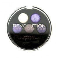 Makeup Revolution 5 Baked Eyeshadows Electric Dreams - Paleta 5-ciu wypiekanych cieni do powiek (5029066033536