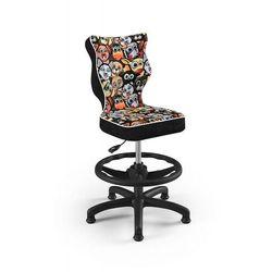 Entelo Krzesło dziecięce na wzrost 133-159cm petit black st28 rozmiar 4 wk+p
