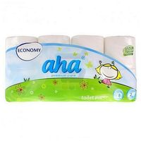 Papier toaletowy  economy biały 8 rolek marki Aha