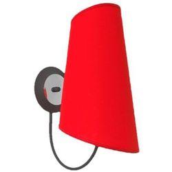 Kinkiet Victoria czerwona 337/K CZE - Lampex - Sprawdź kupon rabatowy w koszyku, 337/K CZE