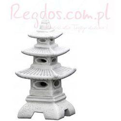 Lampa betonowa ogrodowa, chińska świątynia 46cm