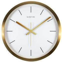 Zegar ścienny Stripe biały