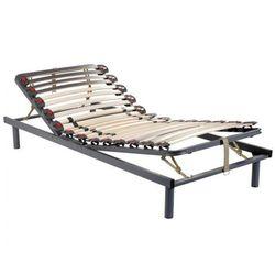Stelaż łóżka listwowy na elastycznych uchwytach, 3 powierzchnie do leżenia, regulacja twardości za pomoc