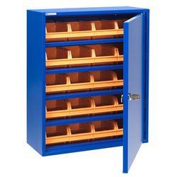 Aj produkty Niebieska szafka warsztatowa z pojemnikami