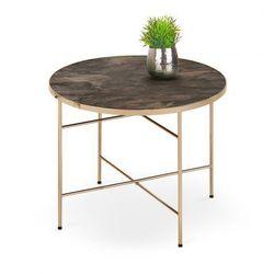 Piękny stolik kawowy coleo - marmur marki Producent: elior