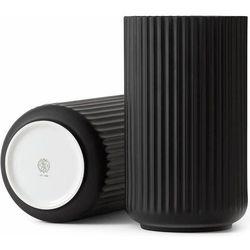 Wazon porcelanowy 25 cm, czarny - Lyngby Porcelain (5711507211015)