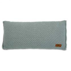 , robust stone green poduszka z tkaną powłoczką, 60x30cm, kamienna zieleń marki Baby's only