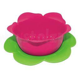 Zak! designs Durszlak z podstawką, różowo - zielony, średni - zak!