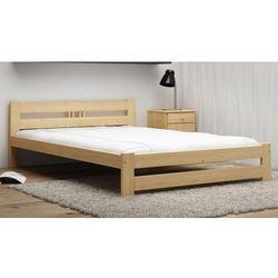 Łóżko ekologiczne drewniane oliwia 180x200 nielakierowane marki Meble magnat