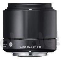 a 60mm f/2.8 dn czarny olympus - produkt w magazynie - szybka wysyłka! marki Sigma