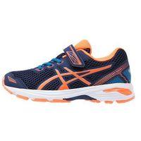 ASICS GT1000 5 Obuwie do biegania treningowe indigo blue/hot orange/thunder, kolor niebieski