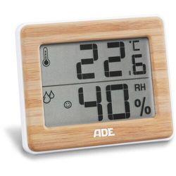 ADE - termometr pokojowy z higrometrem (wymiary: 10 x 1,5 x 8 cm) (4260336175964)
