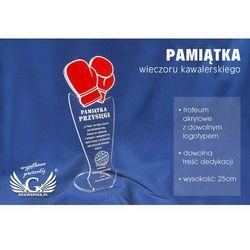 Pamiątka wieczoru kawalerskiego - rękawice bokserskie - model dta32 - wysokość 25 cm wyprodukowany przez G