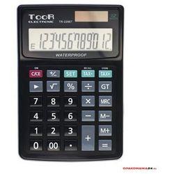 Kalkulator toor tr2296 12 pozycyjny wodoodporny marki Toor electronic