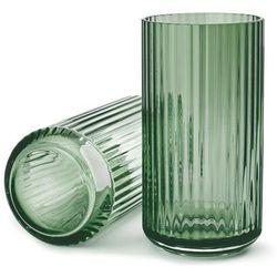 Lyngby porcelain Wazon szklany 20 cm, zielony -