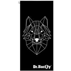 Dr.Bacty L szybkoschnący ręcznik treningowy 60x130 cm / Wilk - Wilk