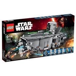 Lego Star Wars First Order Transporter 75103, klocki