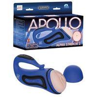 Apollo Alpha Stroker 2 Blue | 100% DYSKRECJI | BEZPIECZNE ZAKUPY