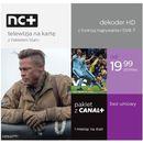 Nc+ telewizja na kartę (130 kanałów, 1 m-c na start z canal+) - dekoder hd iti2850