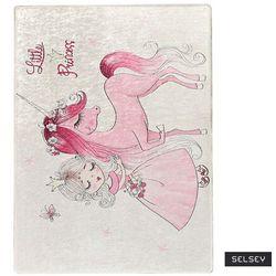 Selsey dywan do pokoju dziecięcego dinkley księżniczka 100x160 cm
