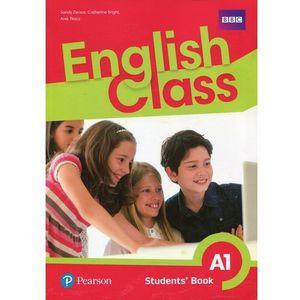English Class A1 SB PEARSON, oprawa broszurowa